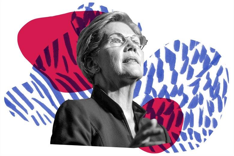 Elizabeth Warren, rising