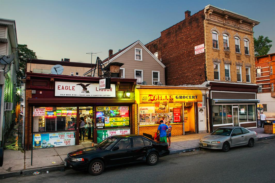 Passaic, New Jersey. A player who stops by everyday to purchase tickets at Eagle Liquors won a $338 million Powerball jackpot in March, 2013. The owner received a $10,000 bonus commission.