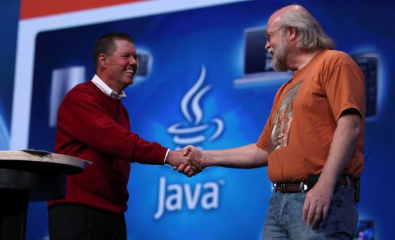Java founder James Gosling at Oracle conference