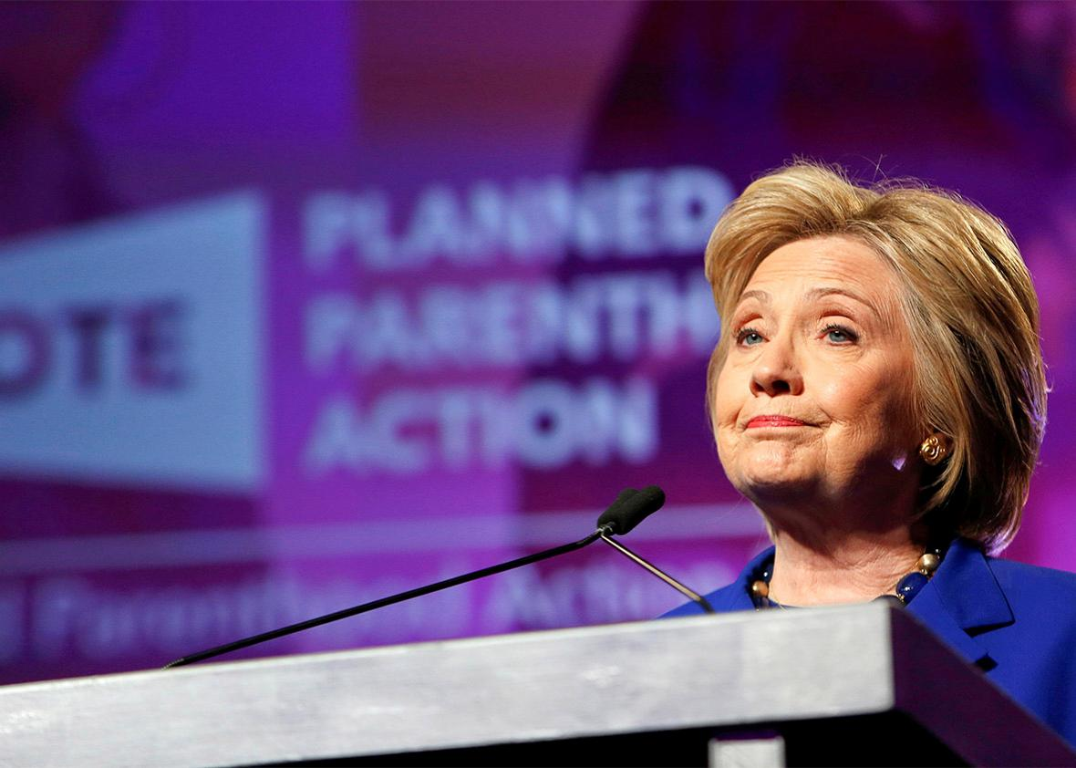 Clinton / Planned Parenthood