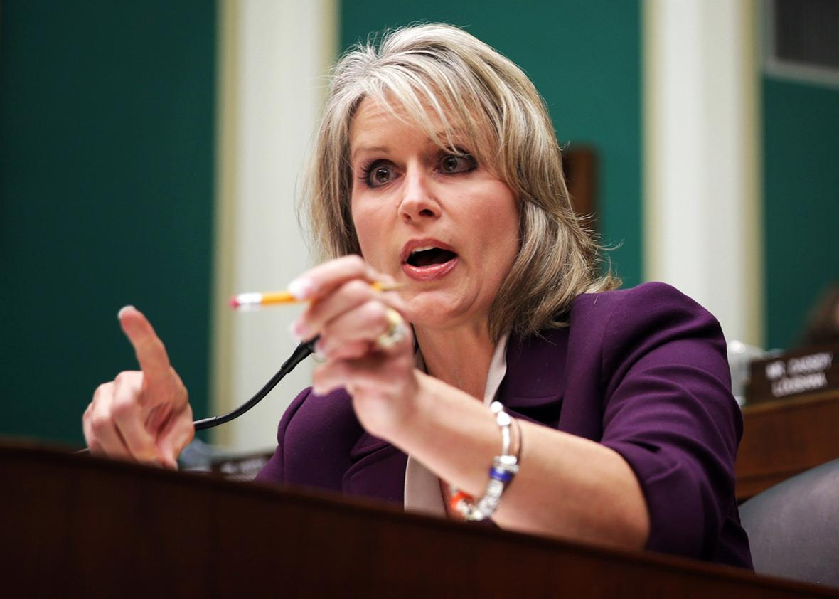 U.S. Rep. Renee Ellmers speaks before the House Energy and Commerce Committee in 2013 in Washington, D.C.