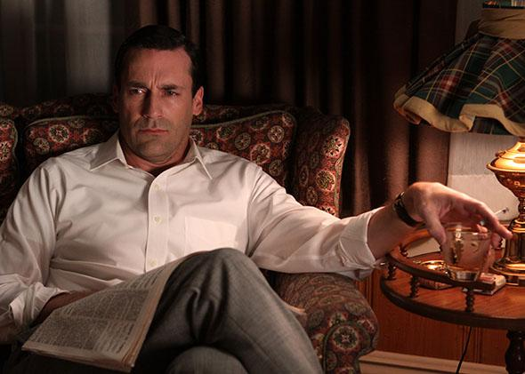 Don Draper (Jon Hamm) in Mad Men, season 3.