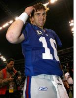 Eli Manning. Click image to expand.