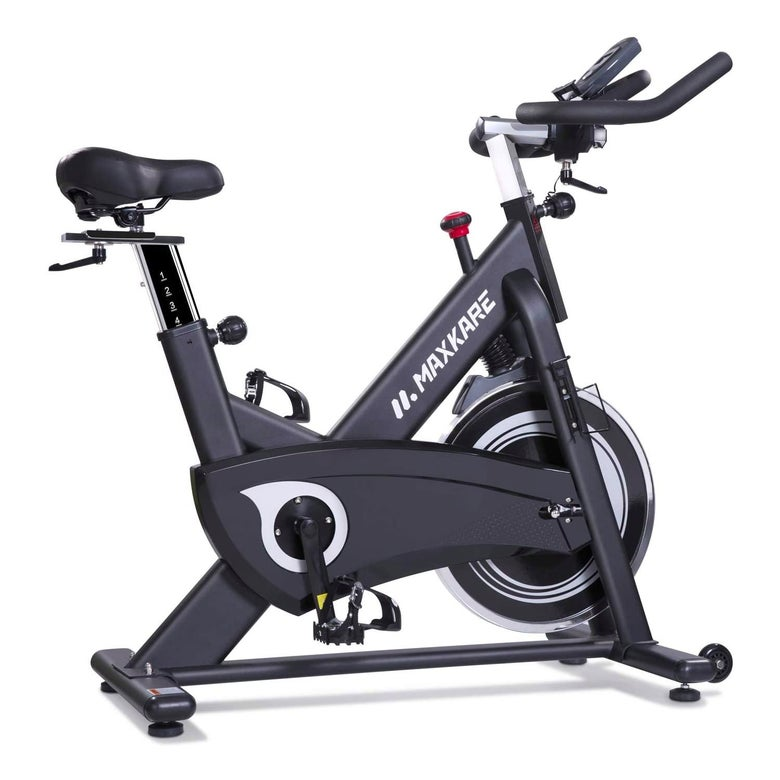 An exercise bike.