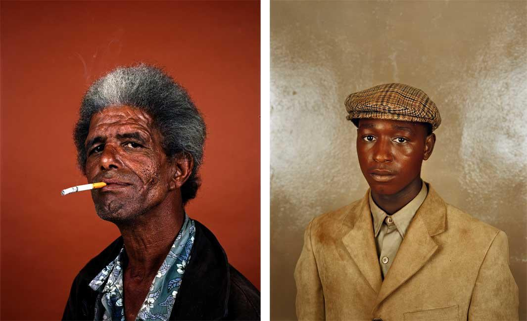 Left: Shaun Oliver, Cape Town, 2011 Right: Samuel Nkosomzi, Cape Town, 2007