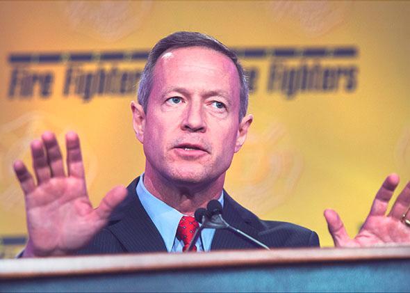 Former Maryland Gov. Martin O'Malley.