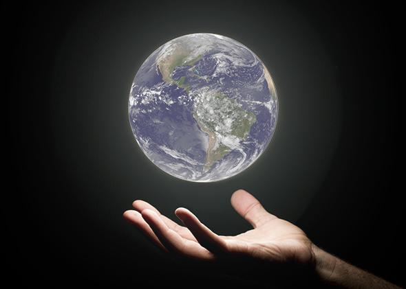 Crystal Ball Earth