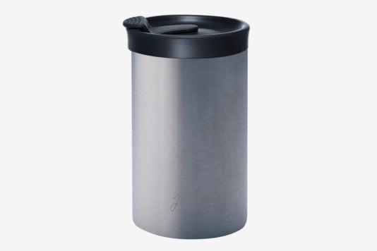 Bobble Presse Stainless Steel Travel Mug.
