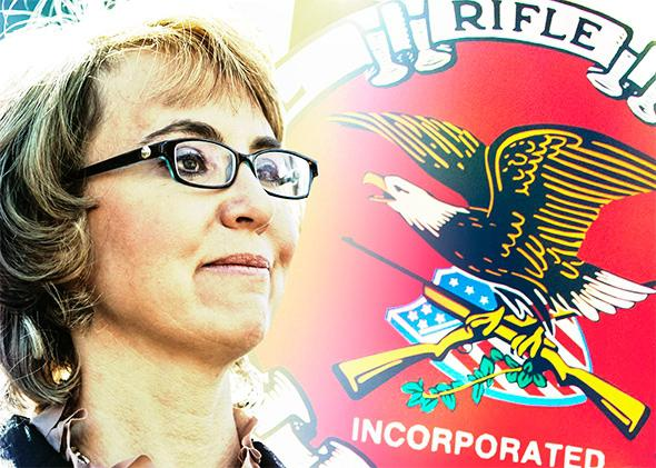Gabby Giffords versus the NRA