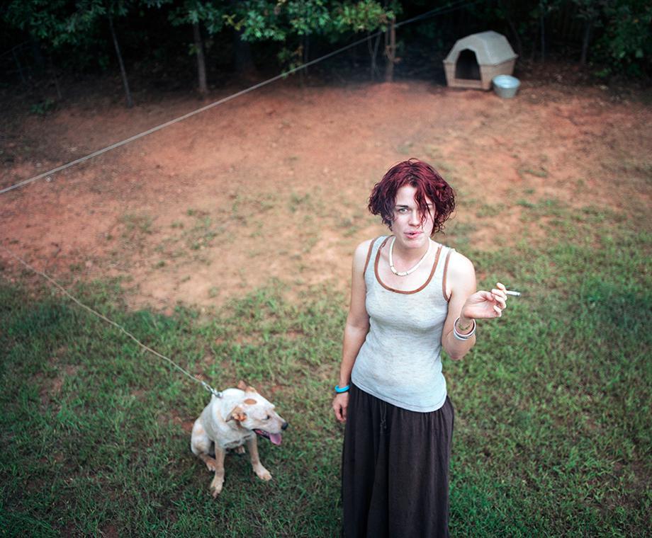 Amy In Her Backyard,2005