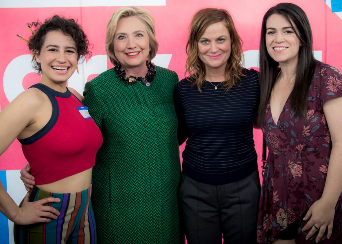 How Raunchy Will Hillary Clinton Get On Broad City-3502