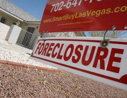 Foreclosure sign. Click image to expand.