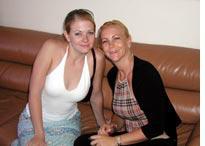 Melissa Joan Hart and her mom, Paula