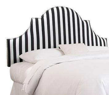 Canopy High Arch Nail Button Headboard Collection