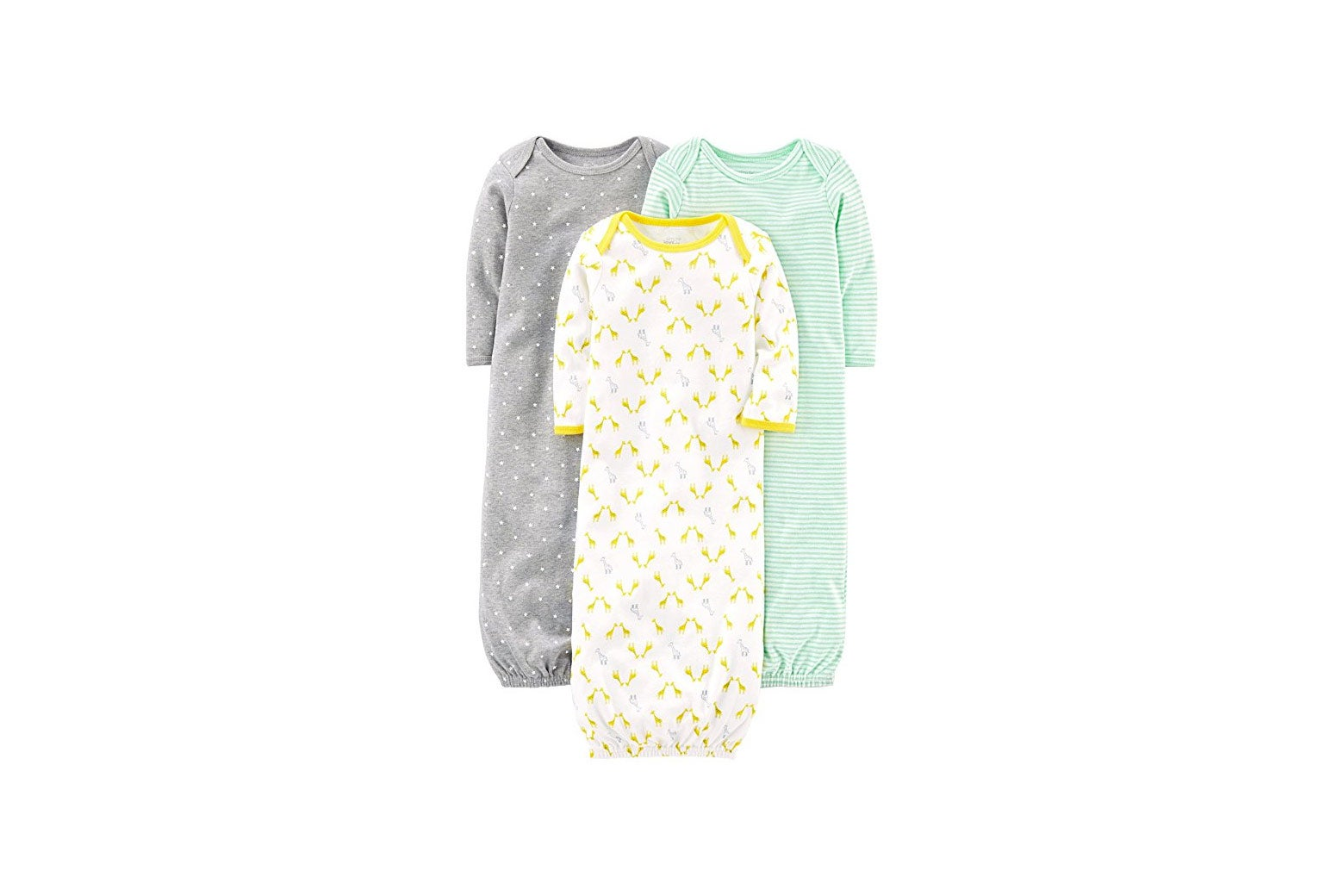 Carter's Baby 3-Pack Cotton Sleeper Gown