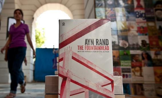 The Fountainhead, by Ayn Rand -- the high priestess of free-market capitalism and unfettered individualism.