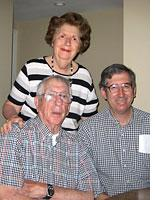 My grandparents and uncle in their new apartment          Click image to expand.