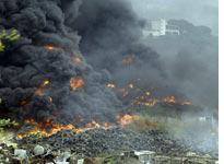 Fire in Beirut         Click image to expand