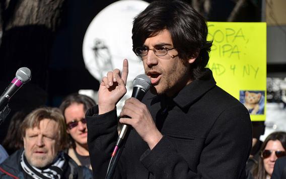 Demand Progress founder and director Aaron Swartz in January 2012.