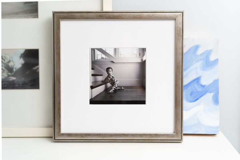 A photograph in a Framebridge custom frame.