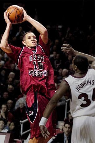 Delonte West playing for St. Joseph's in 2004.