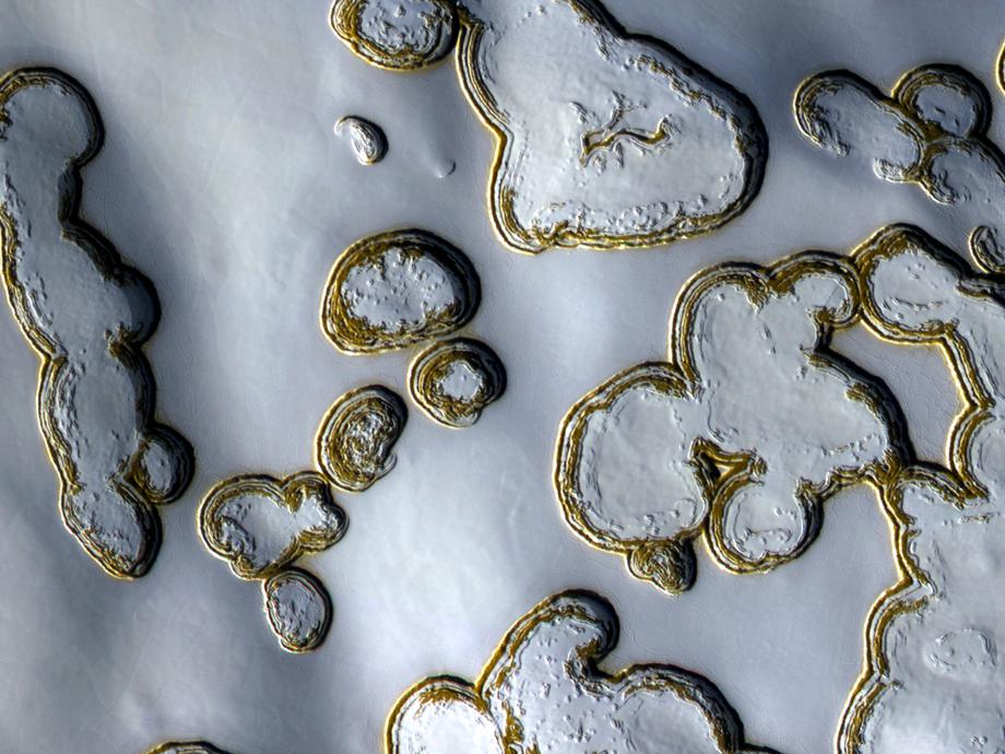 mars dry ice snow photo.