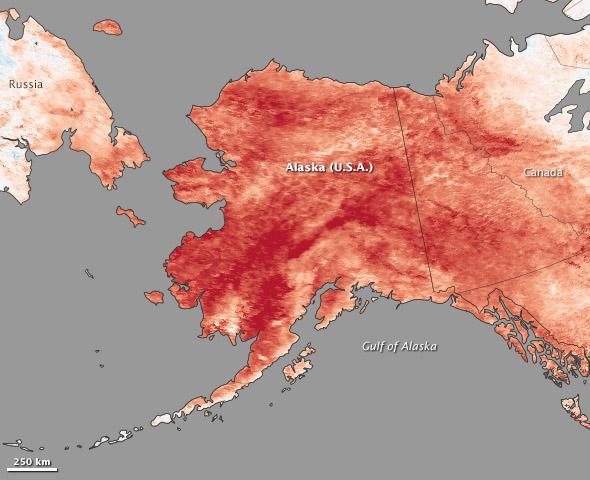 Alaska temperatures