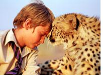 A boy and his cheetah          Click image to expand.