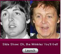 Click here to launch a slide show on wrinkles.