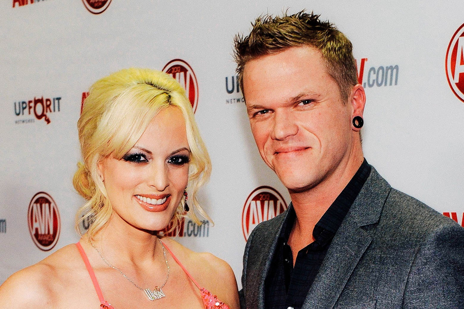 Stormy Daniels and Brendon Miller.