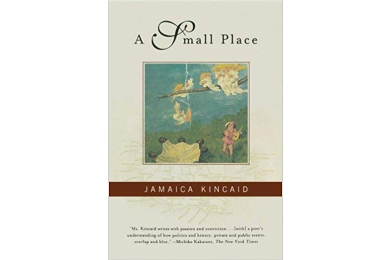 A Small Place by Jamaica Kincaid.