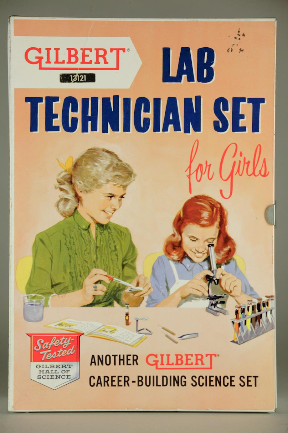 Cover of A.C. Gilbert Lab Technician set