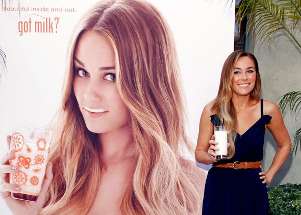 "Lauren Conrad for ""Got Milk?"""
