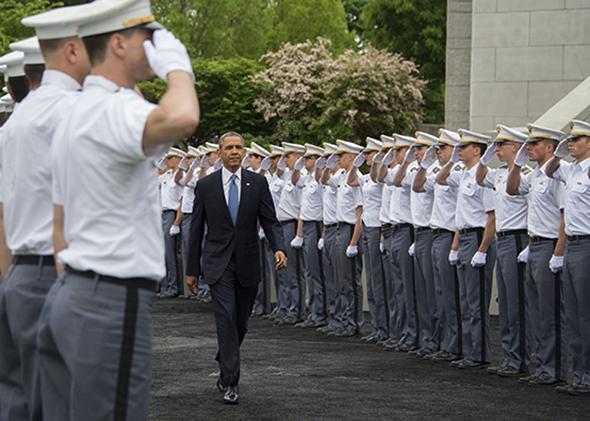 Barack Obama at West Point