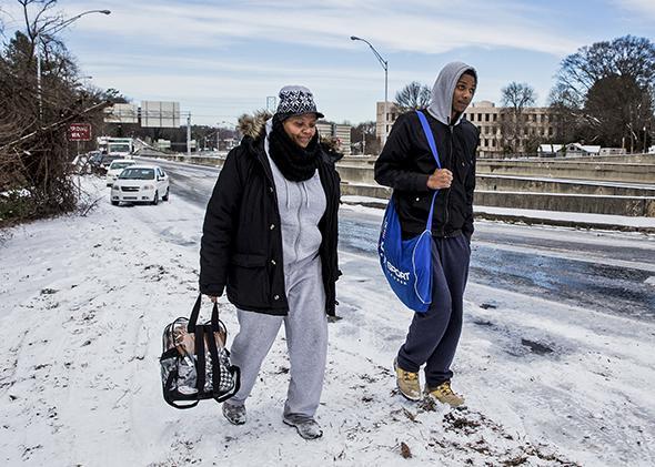Atlanta Snow Commute
