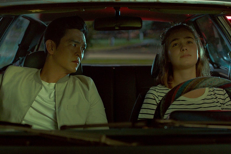 John Cho and Haley Lu Richardson in Columbus