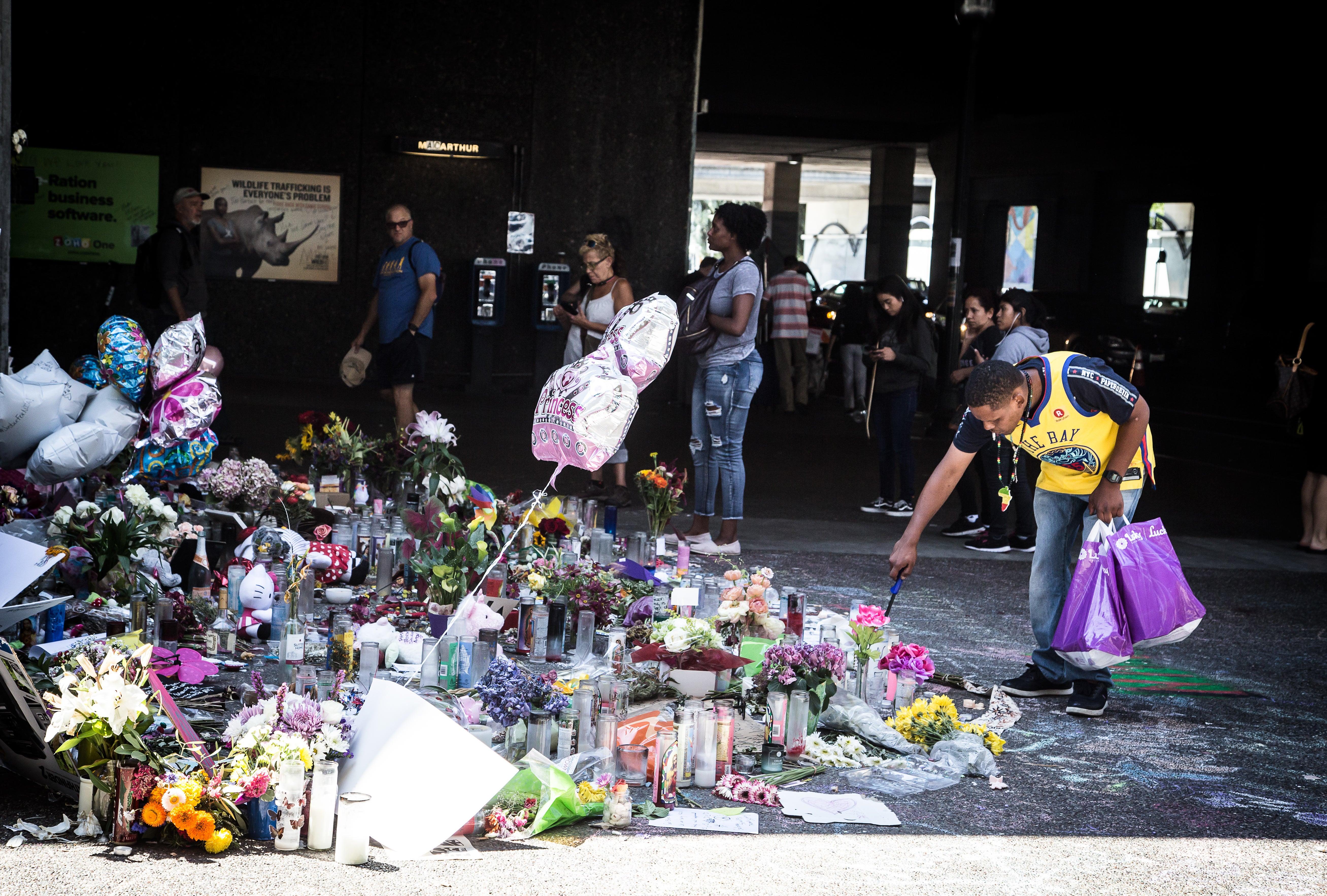 Memorial for Nia Wilson