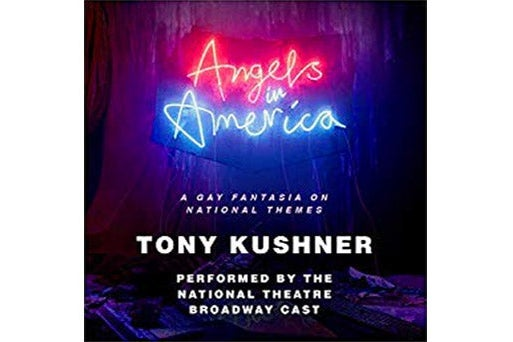 Audiobook cover of Angels in America.