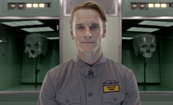 David (Michael Fassbender) from Prometheus