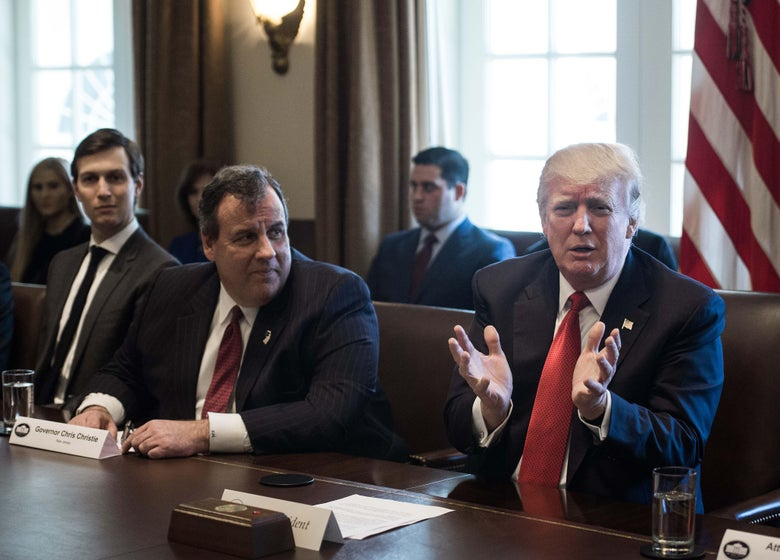 """Chris Christie Accuses Jared Kushner of """"Political Hit Job"""" in New Book"""