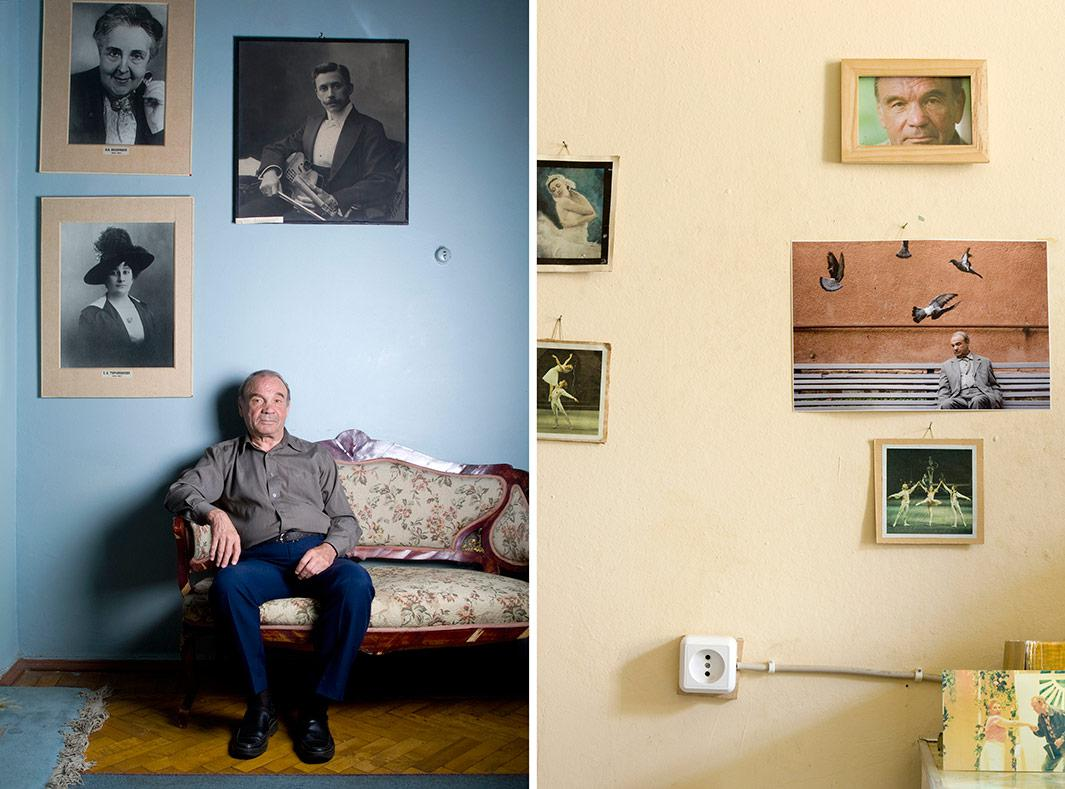 Boris Nikolaevich Leonov, born 1932.