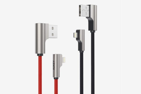 Aukey Lightning Cables.