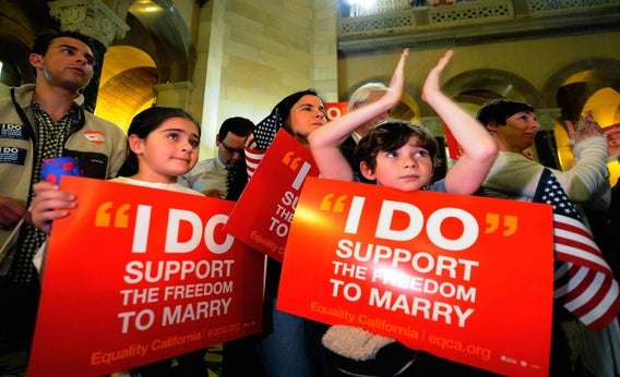 Opponents of Proposition 8.