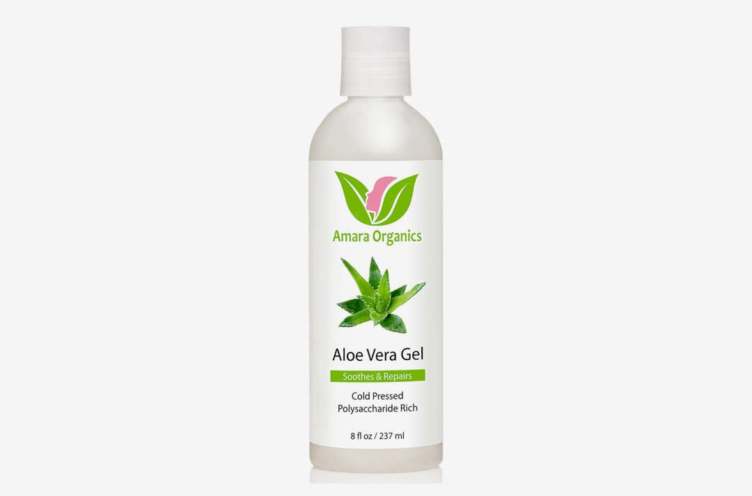 Amara Organics Aloe Vera Gel.