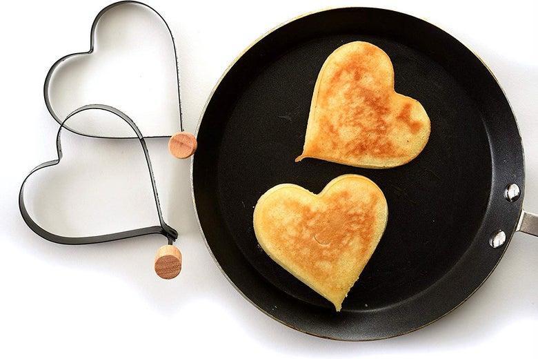 Norpro Nonstick Heart Pancake/Egg Rings