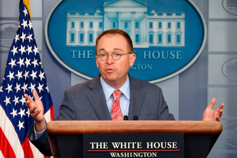 Mulvaney admits quid pro quo with Ukraine