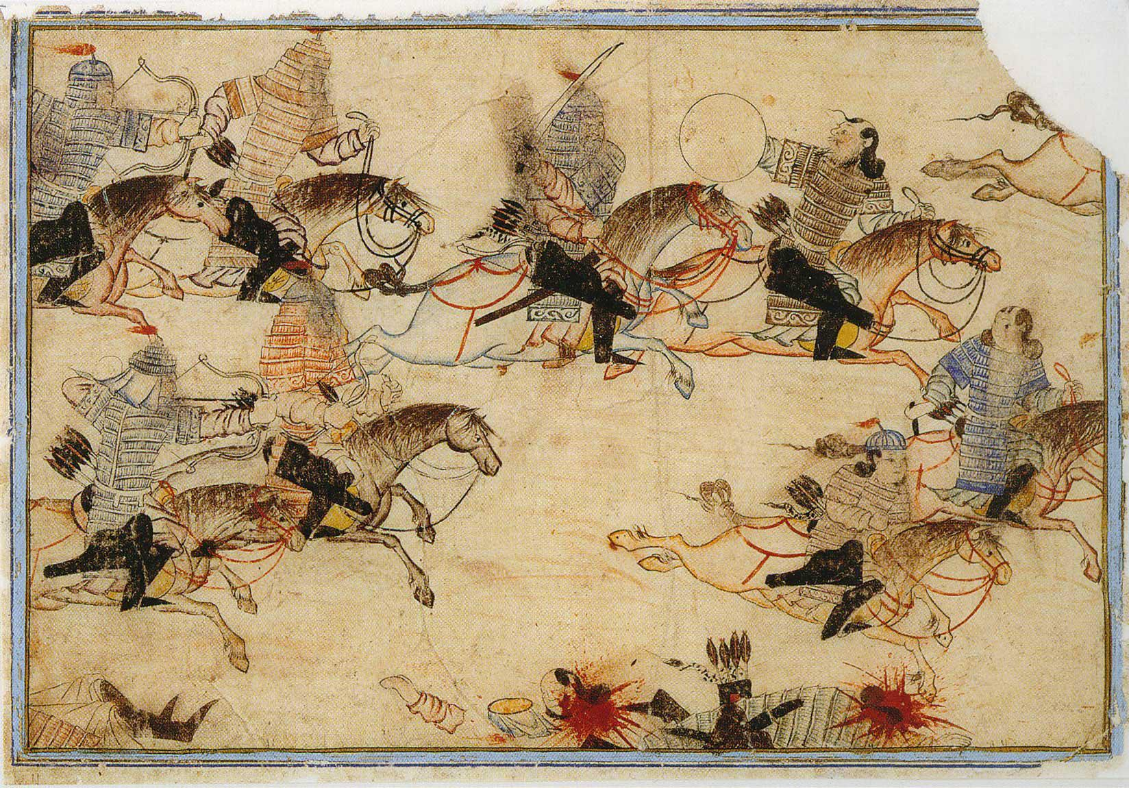 how did the mongols spread culture