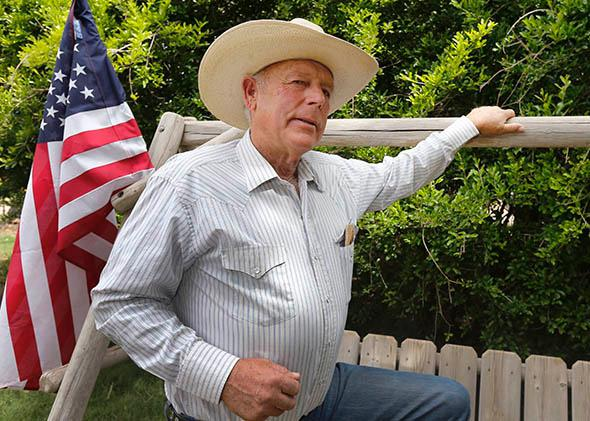 Rancher Cliven Bundy.
