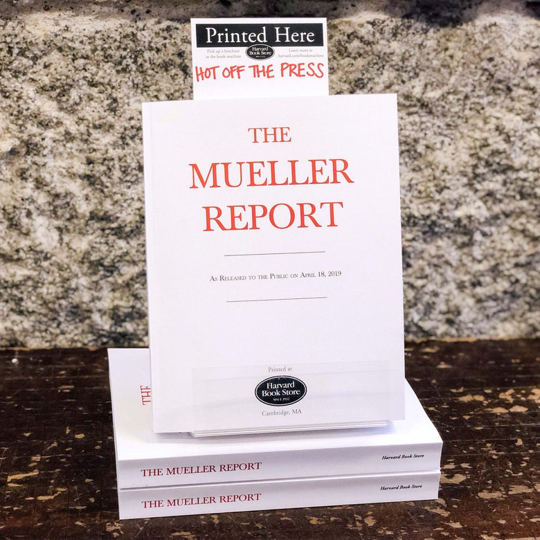 Book review of the Mueller report as literature