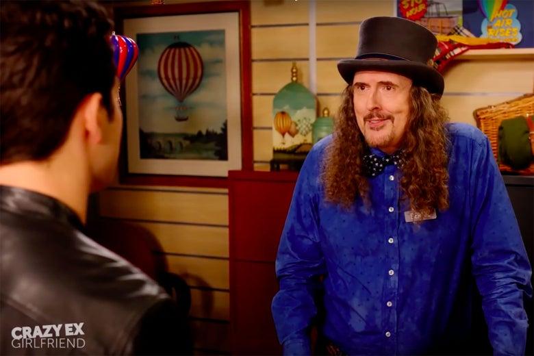 """""""Weird Al"""" Yankovic in """"Crazy Ex-Girlfriend."""""""